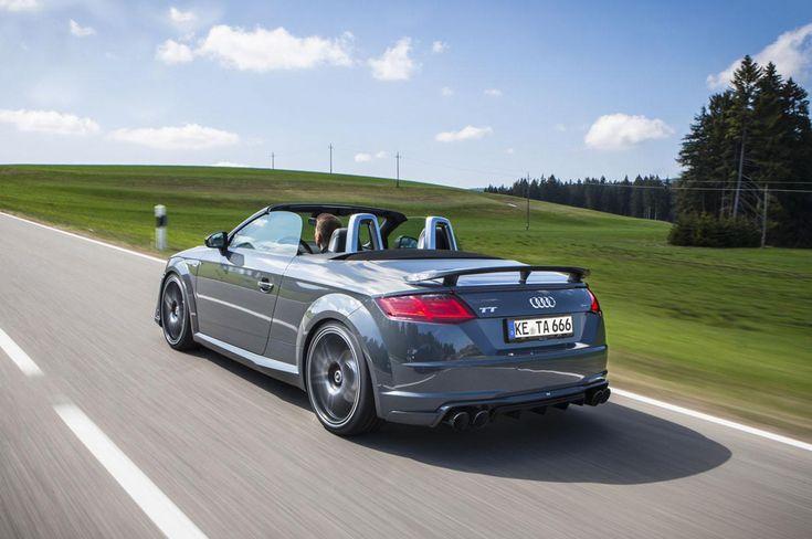Il preparatore tedesco presenta l'Audi TT Roadster by ABT, variante più personale e performante della cabrio di Ingolstadt