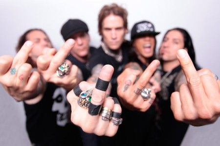 BUCKCHERRY SAY FUCK IT AND RELEASE THEIR NEW EP ON AUGUST 18TH The EP is simply titled 'FUCK' - six songs that unapologetically rattle the speakers as much as they will the censors...""