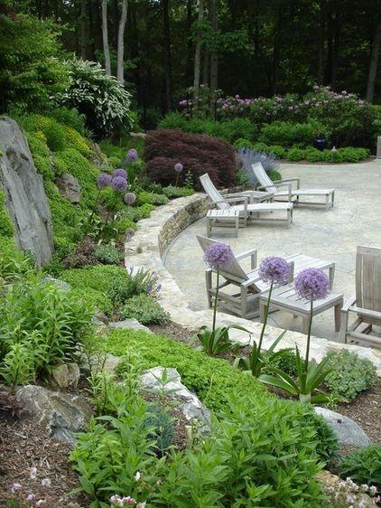 89 best garden slopes images on pinterest landscaping for Garden prairie pool enclosures