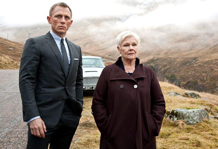 Judi Dench Daniel Craig Skyfall