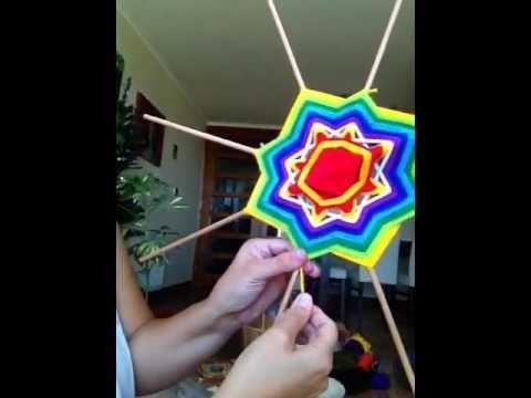 Mandala de lana - YouTube