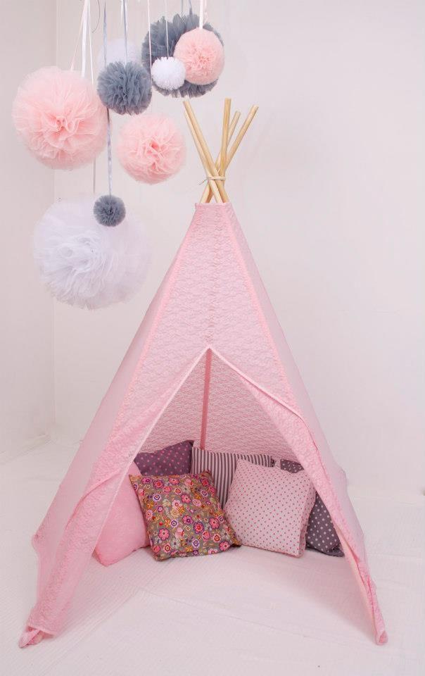 #pacztipi #pacz #tipi #teepee #lace #pink