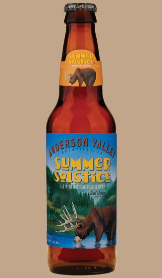 Anderson Valley Summer Solstice - wow, delicious... creamy without being too heavy, hints of vanilla and spice, slightly sweet... YUM!