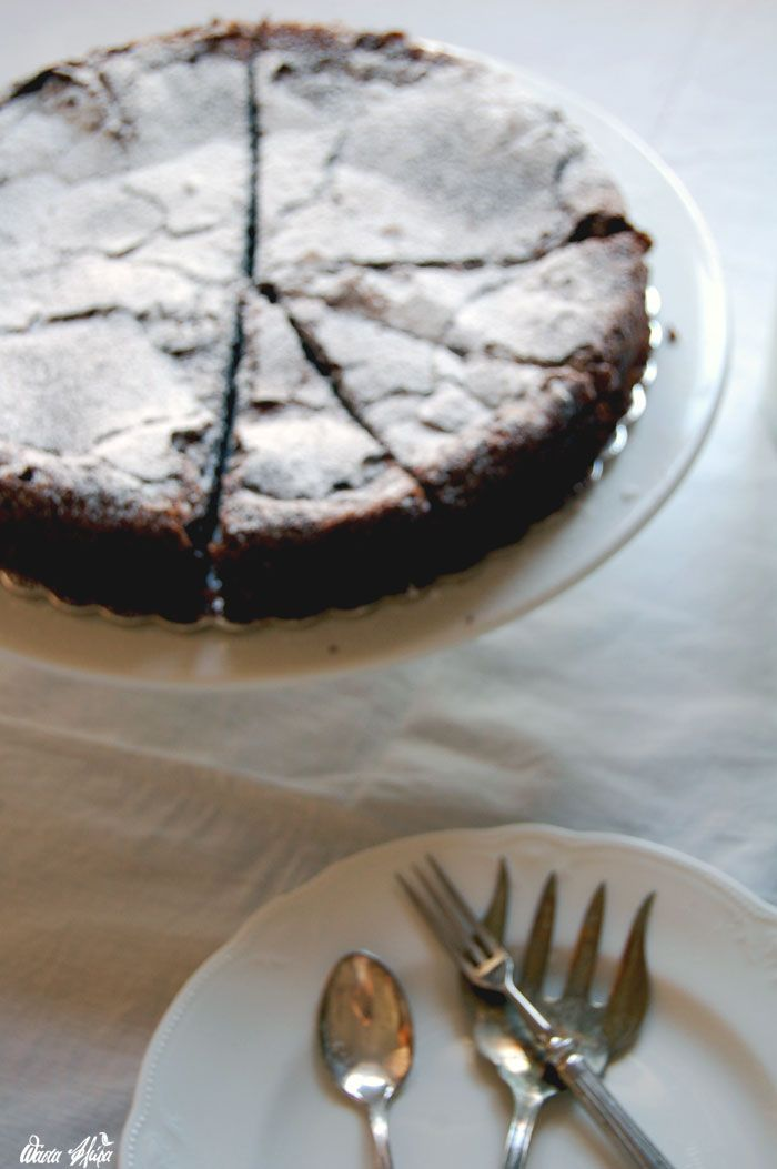 Flourless Chocolate Cake | Pasta Flora