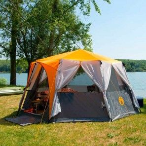 Coleman Cortes Octagon 8 Man Tent | Charlies Direct