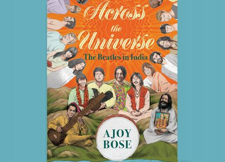 ACROSS THE UNIVERSE: #THEBEATLES IN INDIA (Hardcover –February, 2018)by Ajoy Bose. ORDER HERE: https://www.amazon.com/gp/product/0670089575?ie=UTF8&tag=bm05b-20&camp=1789&linkCode=xm2&creativeASIN=0670089575 MORE ITEMS HERE: https://www.amazon.com/shop/beatlesmagazine