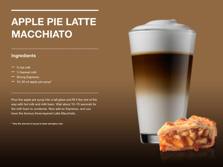 Apple Pie Latte Macchiato
