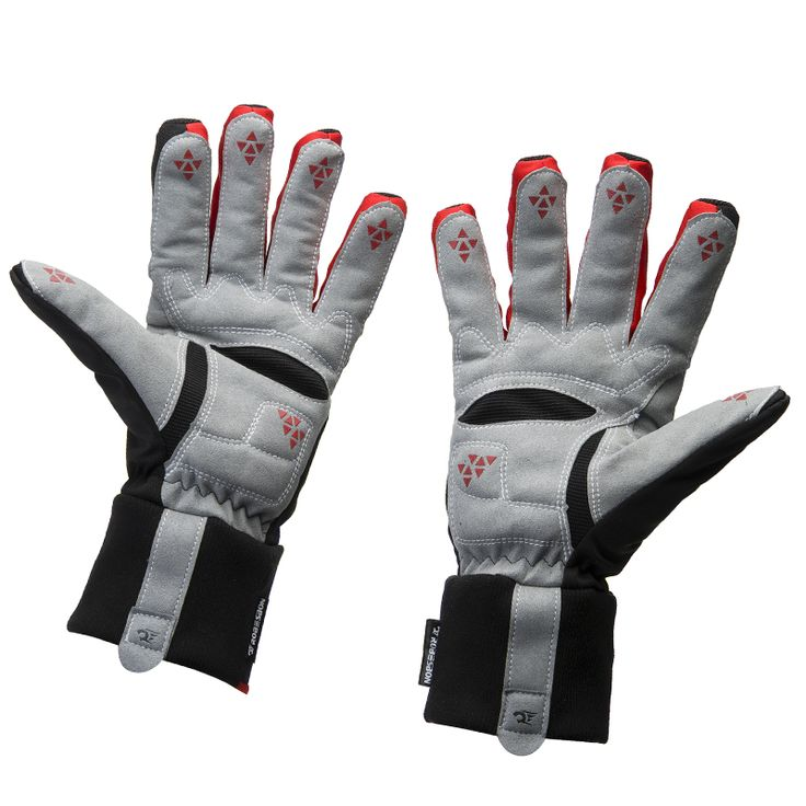 Thicken Winter Bike Bicycle Cycling Gloves Silicone Wearable Waterproof Non-slip Luvas Mtb Guantes Ciclismo Invierno ski gloves