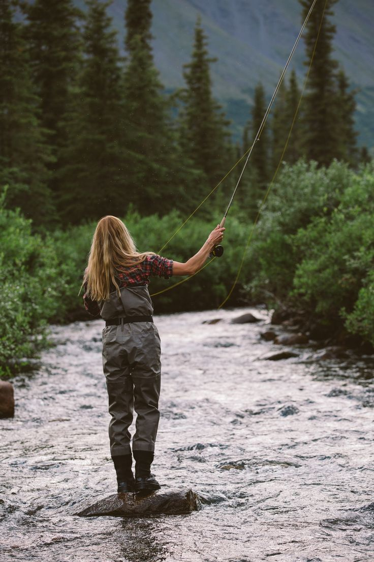 Fly fishing porn