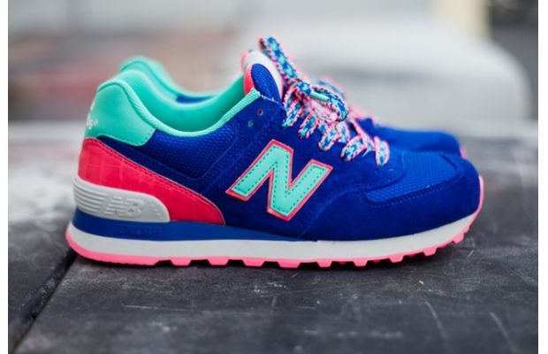 "New Balance 574 ""Blue Candy"" i swear, New Balance is taking the Sneakerhead Community by storm!!"