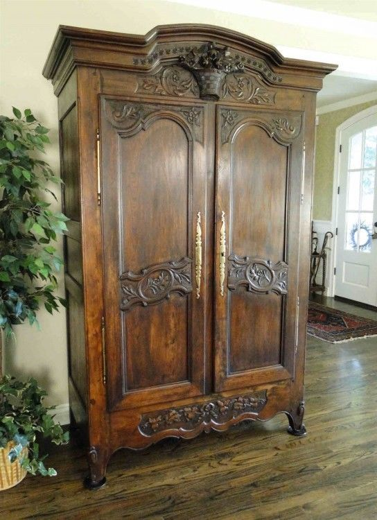 25 best ideas about french armoire on pinterest french bedroom decor french style decor and - French style armoire wardrobe ...