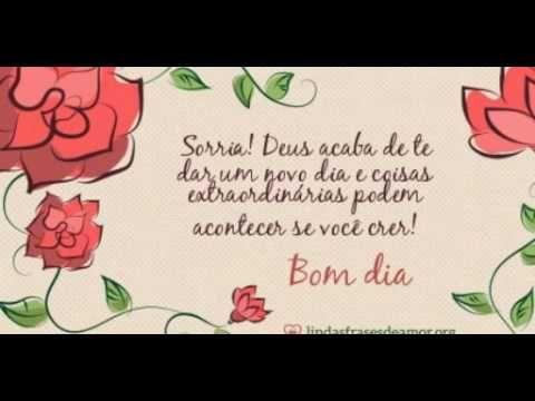 Bom Dia Mensagens com Imagem de Flores