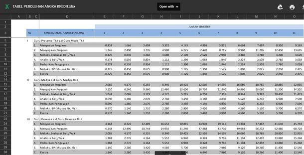 Pin Di Aplikasi Excel Berkas Sekolah