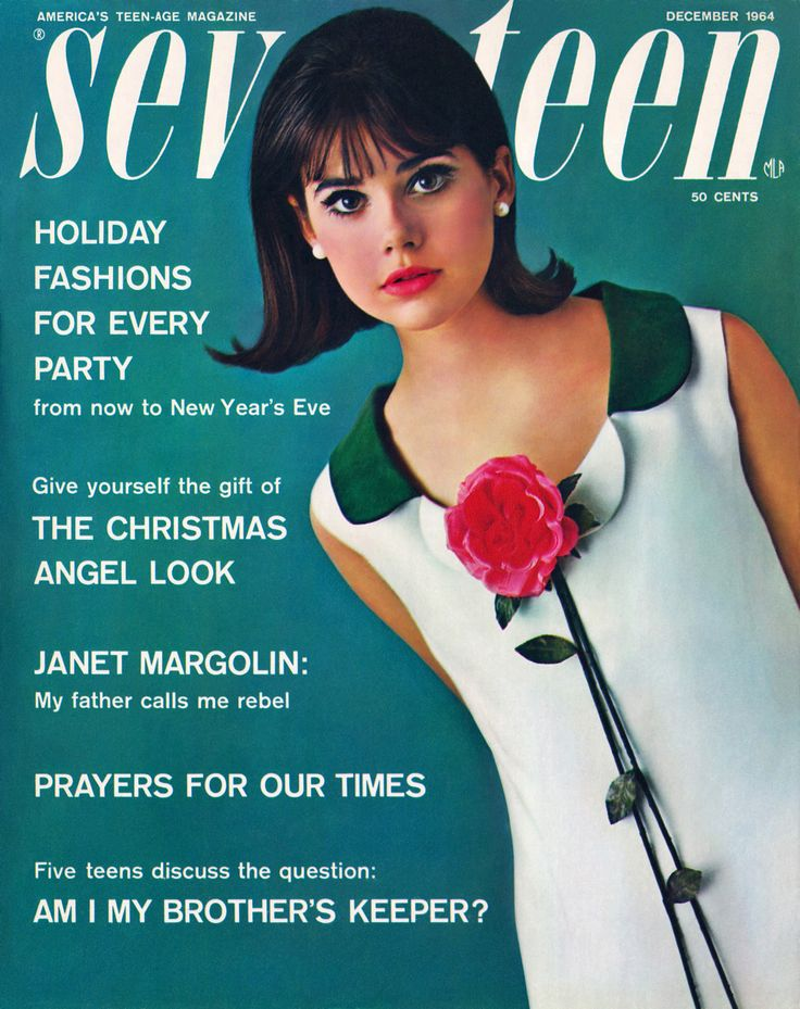 Colleen Corby (Seventeen Magazine Cover - 1964)