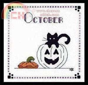 "Calico Crossroads Kats By Kelly - Mini Kats ""Jack And Kat"" - October 2007"