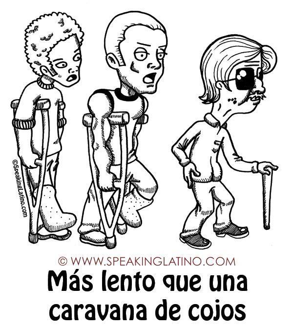 MÁS LENTO QUE UNA CARAVANA DE COJOS  #List by www.SpeakingLatino.com