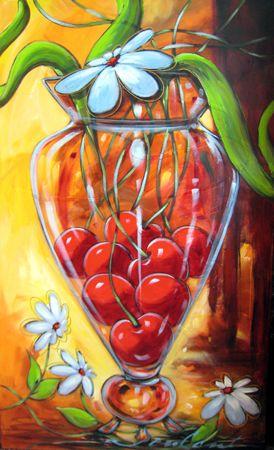 LOVE Daniel Vincent paintings!