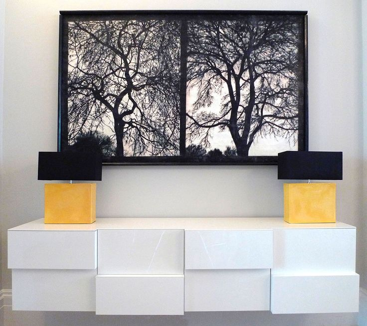 Bespoke Joinery - Sideboard - Design by Robinson van Noort - Contemporary Residential Design, London - Queensgate, London