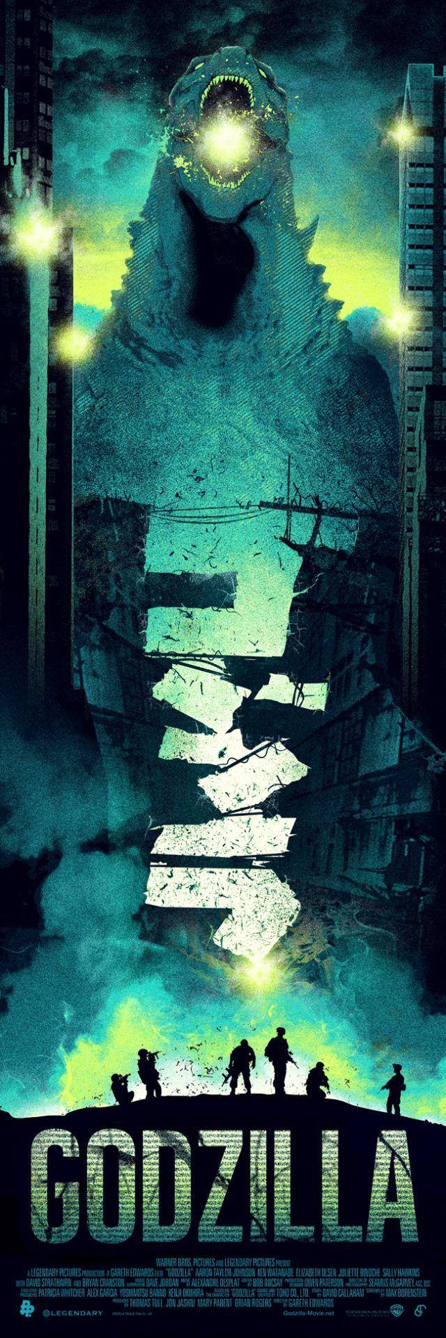 Godzilla by Patrick Connan