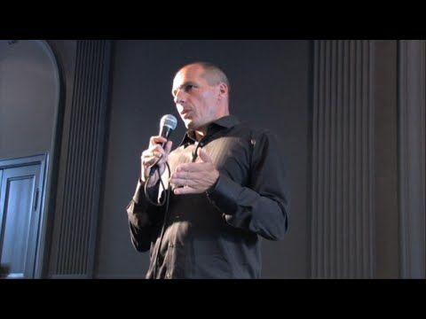 Yanis Varoufakis: The Global Minotaur: America, Europe and the Future of the Global Economy - YouTube