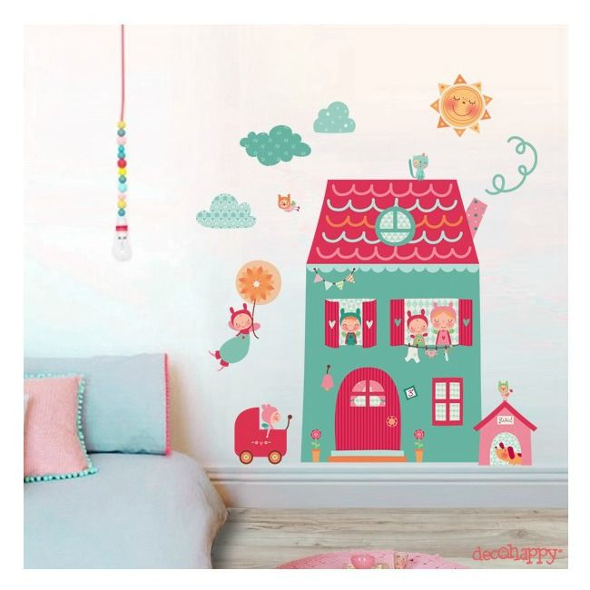 Decorar habitaciones infantiles con Decohappy