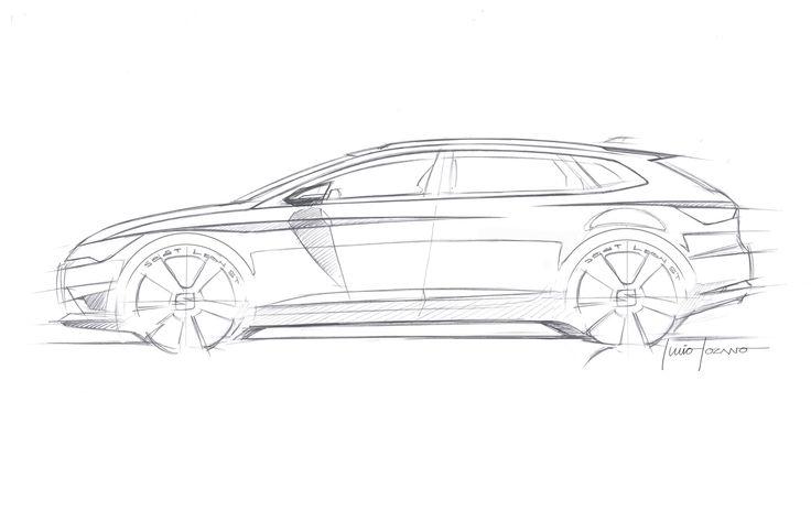 SEAT Leon ST - Design Sketch
