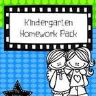 This product includes EVERYTHING for a Kindergarten homework folder.  There are calendars for each month of the school year so that you can have a ...