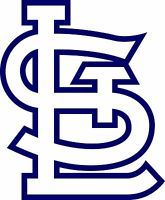 ST. LOUIS CARDINALS STL Logo ~Window WALL DECAL * Vinyl Car STICKER ~ ANY COLOR