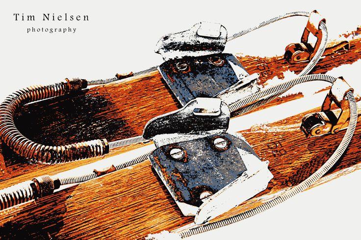 Ski bindings have come a long way.