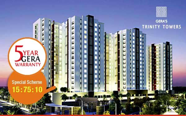 Gera Trinity Towers New Housing Project Pune City Get More Info Call (+91) 9555666555