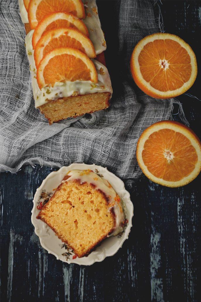 Kraina Sosny: ciasto pomarańczowe