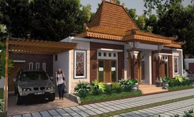 Desain Rumah Minimalis Modern Etnik Jawa Dengan Sentuhan Batu Alam Dan Ornamen Jawa Architecture Traditional House House