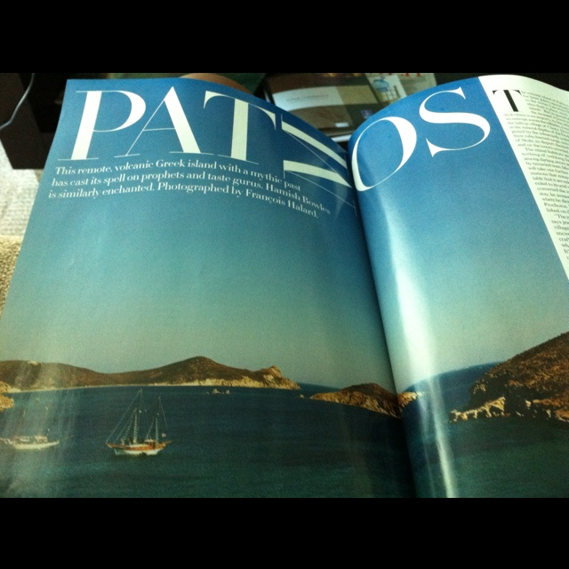 Patmos, Greece via July 2011...with a little planning, this is where I will be next month