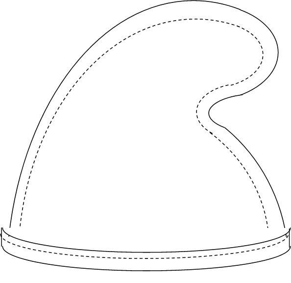 BrianYoxall.com: Smurf Hat - DIY Awesome  Orrrr  a dwarf hat