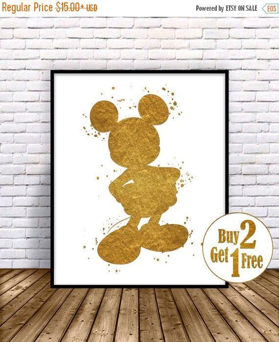 Te koop: Mickey Mouse kunst, Mickey Mouse afdrukken, Disney afdrukt, Mickey…