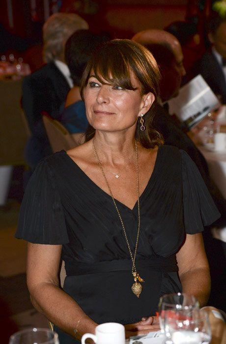 Carole Middleton on elegant form at fundraising gala ...