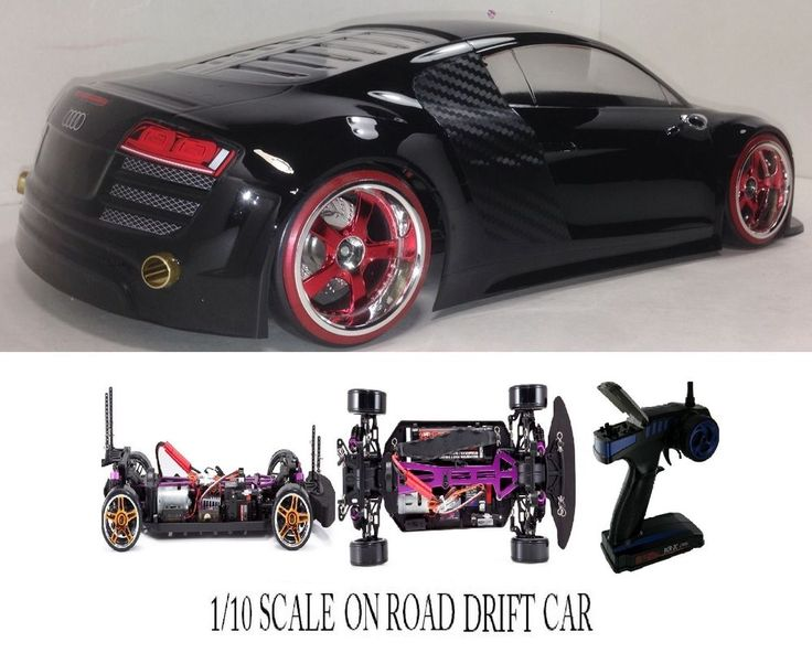 Scale Audi Rtr Custom Rc Drift Cars Charger Blk