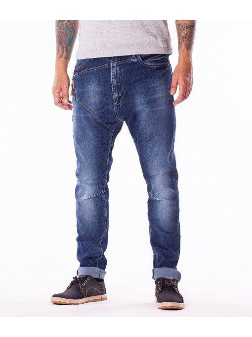 Blugi barbati drepti X Three Jeans Fashion