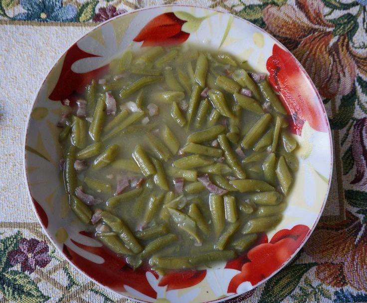 Rezept Herzhafter grüner Bohneneintopf - richtig lecker von silvia45 - Rezept der Kategorie Hauptgerichte mit Fleisch