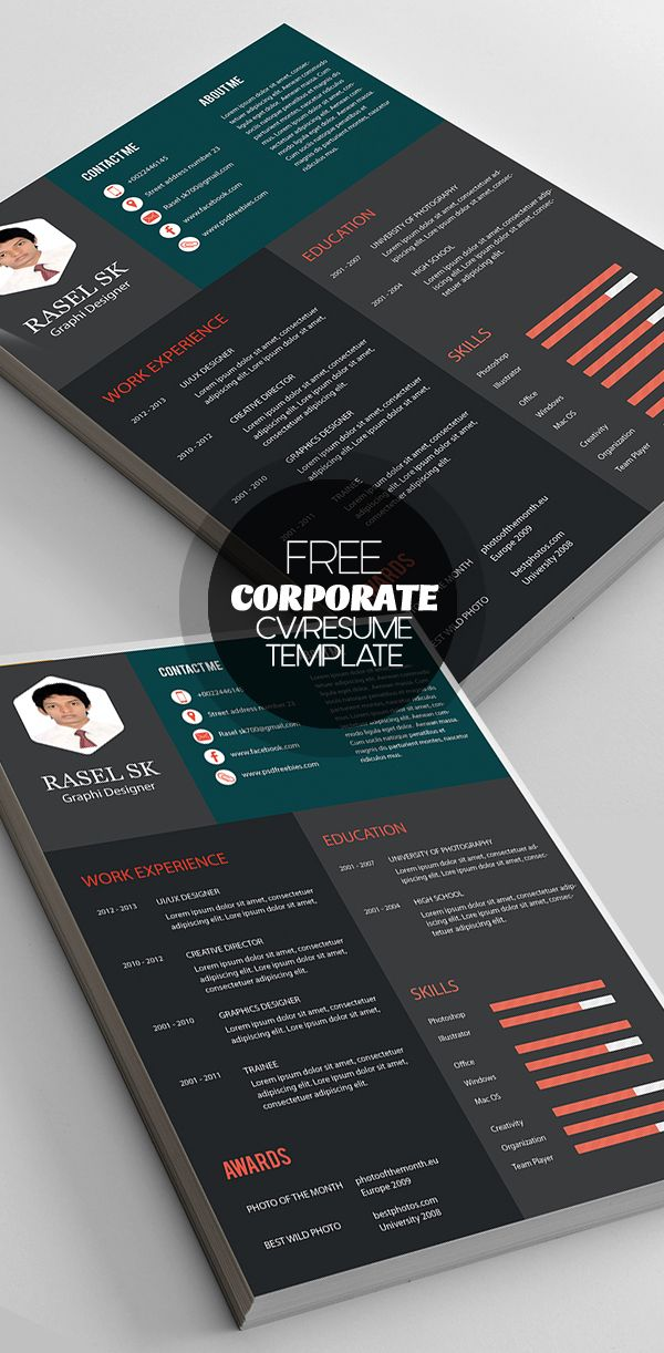 resume builder template free%0A Creative and professional resume templates are perfect way to make the best  impression for your job career  Beautiful collection of resume templates