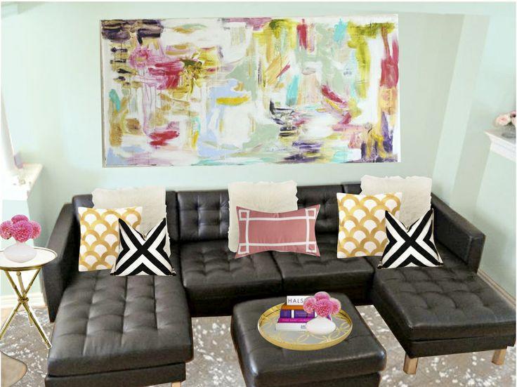 Ella's Colourful Parisian Living Room