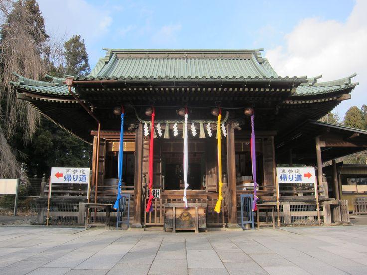 Toshogu Shrine in Sendai, Japan