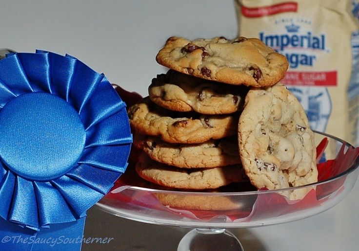 This recipe for Thick and Chewy Chocolate Chip cookies won the Blue Ribbon award for the Best Chocolate Chip Cookie at the Blue Ribbon Country Fair, held recently at the Great Smoky Mountains.