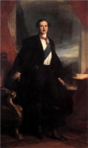 Franz Xaver Winterhalter (German: 1805-1873) | Prince Albert