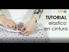 Tutorial Costura : elástico cintura - YouTube