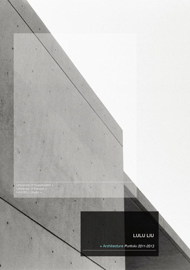 17 Best Images About Architectural Portfolio On Pinterest