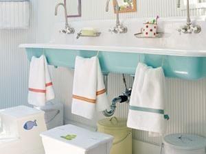 Une salle de bains juste pour les enfants • Hellocoton.fr