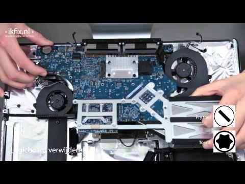 iMac 20'' CPU Fan vervangen. #ikfix #macrepair #iMac #apple #youtube #CPU