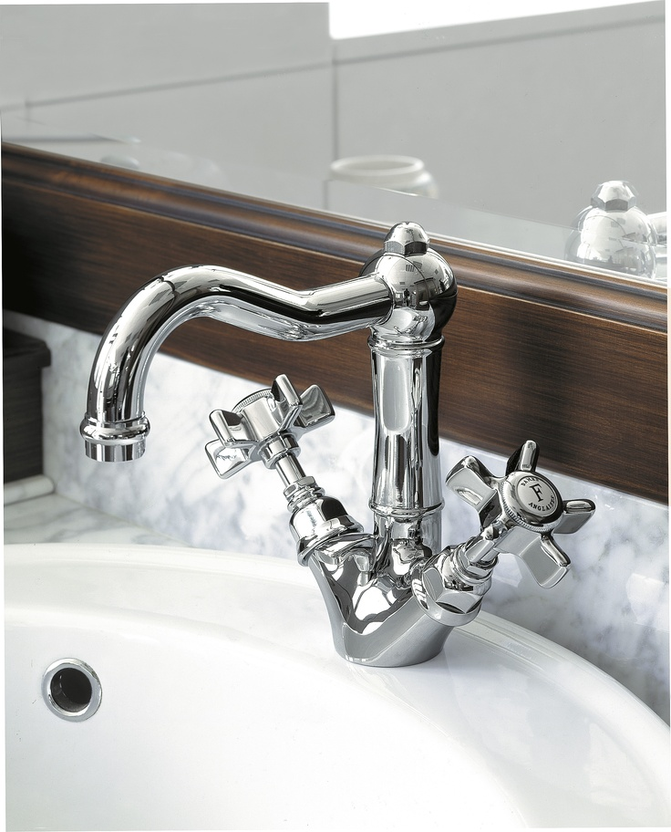 1432V - Basin Single Hole Mixer with Swivel Spout www.sinkandtap.com.au