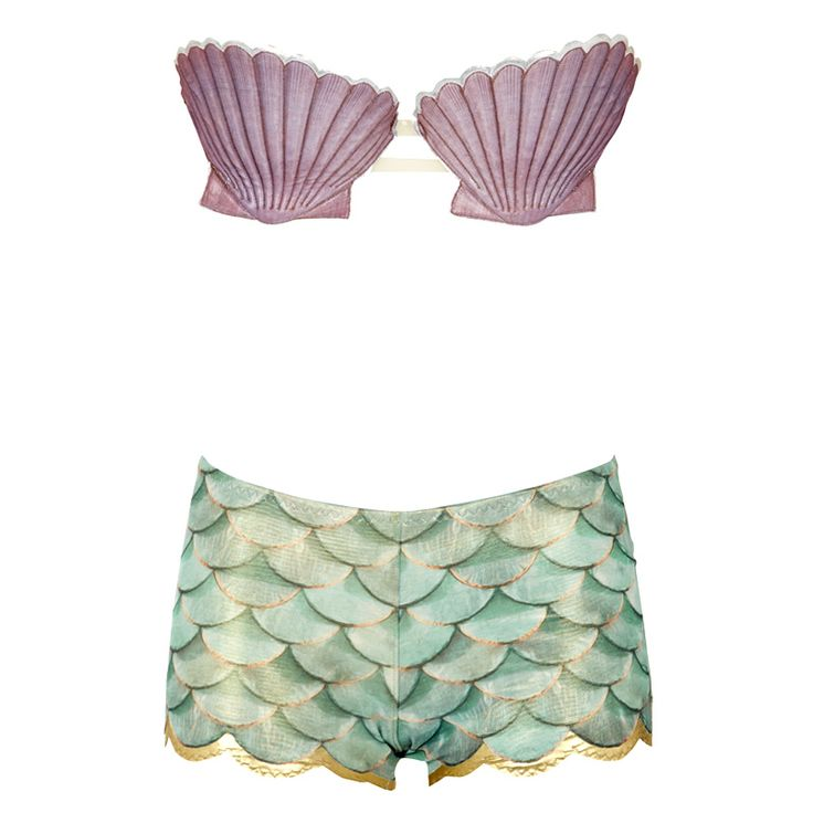 THIS IS WHAT I WANT FOR CHRISTMAS!!!! Mermaid Scallop Shell bikini top — Buttress & Snatch